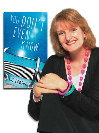 Sue Lawson and new book You Don't Even Know, released September 2013.